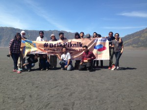 Seluruh peserta #brikpiknik dan @indosatmania