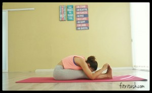 Forward Bend For Stretches Legs and Back
